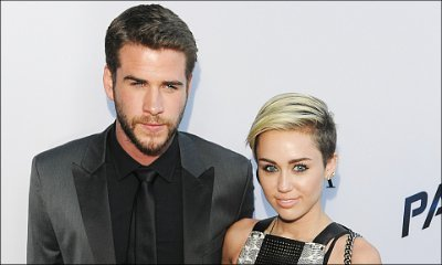 Miley Cyrus and Liam Hemsworth Look Happy While Attending Friend's Wedding Together