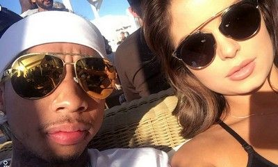 Tyga Cozies Up to Lingerie Model Demi Rose in Cannes Following Kylie Jenner Split