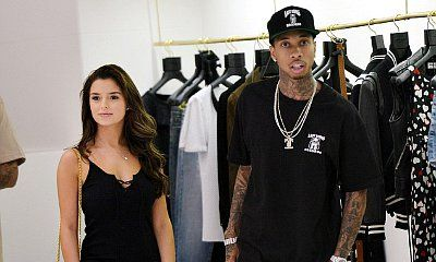 Tyga Takes Model Demi Rose Mawby Shopping in Cannes