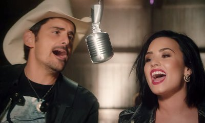 Brad Paisley and Demi Lovato Premiere Fun Music Video for 'Without a Fight'