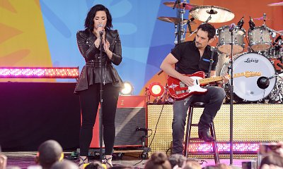 Demi Lovato Performs Her Hits, Brings Out Brad Paisley on 'GMA'