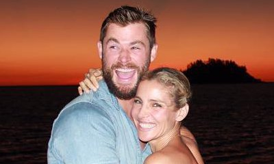 Elsa Pataky and Chris Hemsworth Seem Smitten During Exotic Vacation. See the Pics!