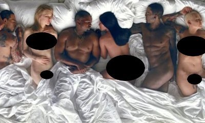 Kanye West and Everyone, Including Taylor Swift, Sleep Naked in His 'Famous' Video