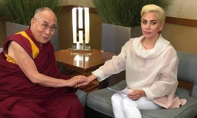 Lady GaGa Sparks Outrage From Her Chinese Fans After Meeting Dalai Lama
