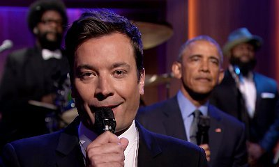 Watch President Obama Take a Jab at Donald Trump in 'Slow Jam the News' With Jimmy Fallon