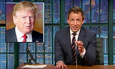 Seth Meyers Bans Donald Trump From His 'Late Night' Show