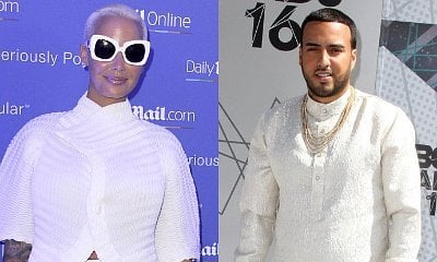 New Couple? Amber Rose and French Montana Spotted Leaving Party Together