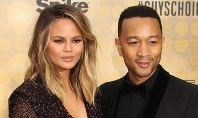 Chrissy Teigen and John Legend Learn How to Swim for Baby Luna