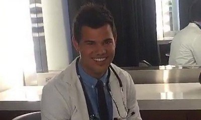 First Look at Taylor Lautner on 'Scream Queens' Season 2