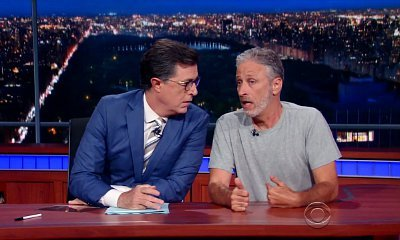 Watch: Jon Stewart Doesn't Know About Roger Ailes' Resignation, Slams Donald Trump's Supporters