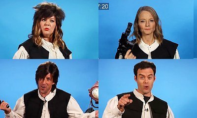 Watch Melissa McCarthy, Jodie Foster, Adam Sandler Ruin Their Han Solo Auditions on 'CONAN'