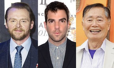 Simon Pegg and Zachary Quinto React to George Takei's Criticism Over Gay Sulu