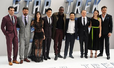 Simon Pegg Explains How Gay Sulu Is Possible in 'Star Trek Beyond' as the Cast Attend U.K. Premiere