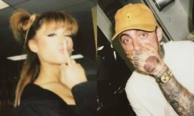 22b660804 Ariana Grande and Mac Miller Get Inked Together. Do They Have Matching  Tattoos Now?