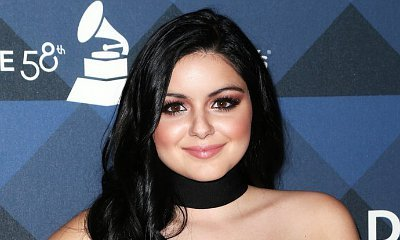 Ariel Winter Flashes Serious Cleavage and Butt in Revealing Swimsuit