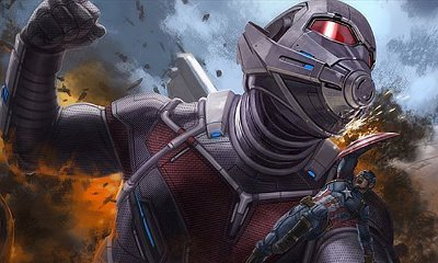 Early Concept Art of 'Captain America: Civil War' Sees Ant-Man Fighting the Cap