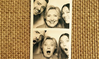 See Justin Timberlake and Jessica Biel Goof Around With Hillary Clinton at L.A. Fundraiser