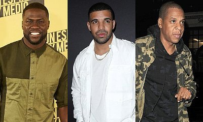 Kevin Hart Disses Drake and Jay-Z After Landing Record Deal