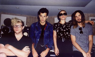 Lady GaGa Hits Recording Studio With BloodPop, Mark Ronson and Kevin Parker