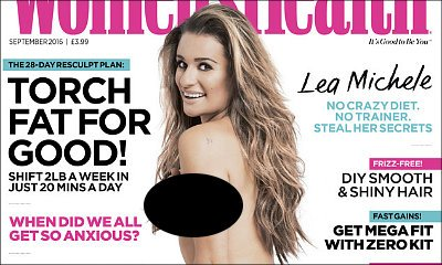 Lea Michele Goes Completely Nude for Women's Health