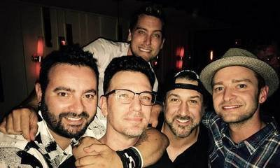 NSYNC Gets Nostalgic During Reunion at JC Chasez's Birthday Party