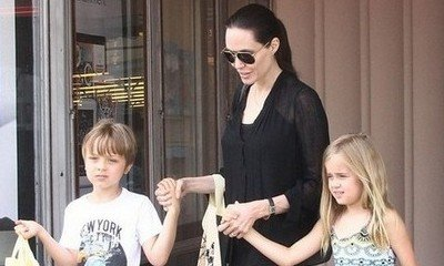 Angelina Jolie Talks Planning Wedding With Her Children
