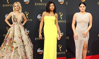 Emmys 2016: Kristen Bell, Taraji P. Henson and Ariel Winter Are Show-Stealers on Red Carpet
