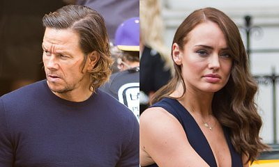 First Look at Mark Wahlberg and Laura Haddock on Set of 'Transformers: The Last Knight'