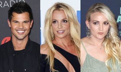 Taylor Lautner Says Britney Spears Tried to Set Him Up With Her Sister Jamie Lynn