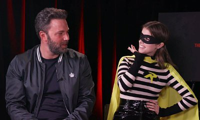Watch Anna Kendrick Eagerly Ask Ben Affleck for a Role in 'The Batman' While Dressing as Robin