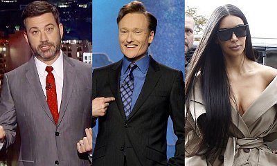 Jimmy Kimmel and Conan O'Brien Joke About Kim Kardashian Robbery Without Being Offensive