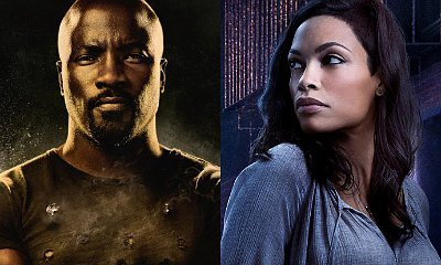 A 'Defenders' Couple: Luke Cage and Claire Temple Kiss in New Set Photos