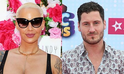 Amber Rose and Val Chmerkovskiy Get Touchy While Celebrating Halloween Together