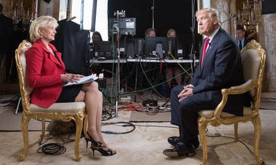Donald Trump on '60 Minutes': President-Elect Insists to Build the Wall, Accepts Marriage Equality