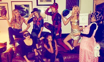 Taylor Swift Throws Epic Halloween Bash With Her Squad, Dresses Up as Deadpool