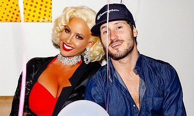 Going Public? Amber Rose and Val Chmerkovskiy Hold Hands on Date Night