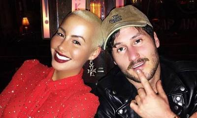 Amber Rose Blames 'Bae' Val Chmerkovskiy for Her New Social Media Obsession