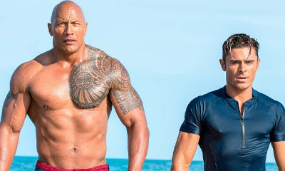 Check Out New Sexy 'Baywatch' Photo Featuring The Rock and Zac Efron