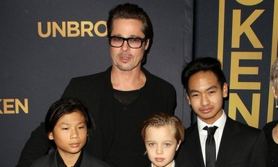 Brad Pitt Will Celebrate Christmas With His Six Children - But What About Angelina Jolie?