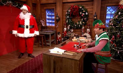Chris Pratt Name Drops Jennifer Lawrence in Christmas-Themed Mad Lib Theater With Jimmy Fallon