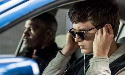 Check Out First Look at Ansel Elgort and Jamie Foxx in 'Baby Driver'