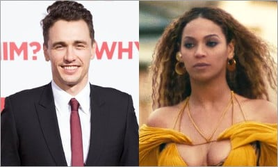 James Franco Hilariously Channels Beyonce While Walking Around L.A.