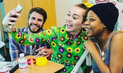 Miley Cyrus and Liam Hemsworth Surprise Young Fans at Children's Hospital