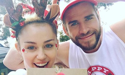 Miley Cyrus Gets More Custom Jewelry From Liam Hemsworth for Christmas
