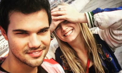 Taylor Lautner Gushes Over Rumored GF Billie Lourd After Her Mom Carrie Fisher's Death