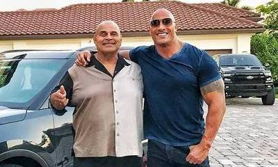 Dwayne 'The Rock' Johnson Surprises His Dad With New Car for Christmas