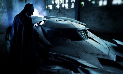 Zack Snyder Unveils New Photo of Batman and Batmobile