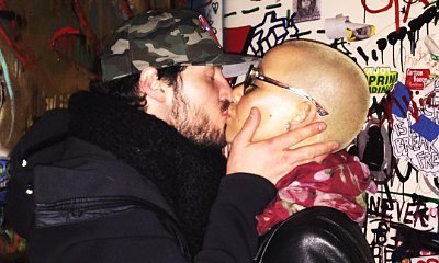 Amber Rose and Her 'Love' Val Chmerkovskiy Share Smooch in This PDA Pic