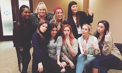 'Pitches' Assemble! Anna Kendrick Shares First On-Set Photo of 'Pitch Perfect 3'