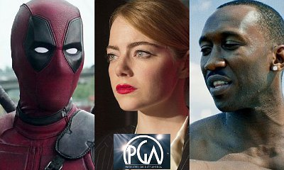 'Deadpool', 'La La Land' and 'Moonlight' Are Nominated for 2017 PGA Awards